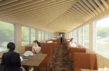 "Seibu gourmet train ""travelling restaurant"" (article by amuzen)"