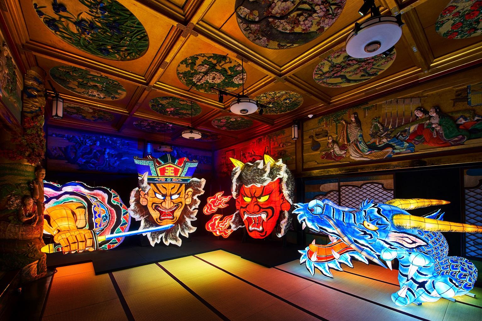 青森県青森市「青森ねぶた祭」(展示イメージ)