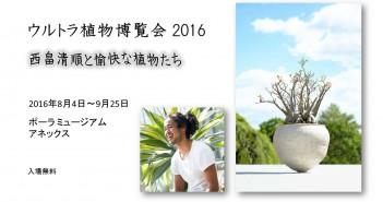 「ウルトラ植物博覧会2016」西畠清順と愉快な植物たち (amuzen article)
