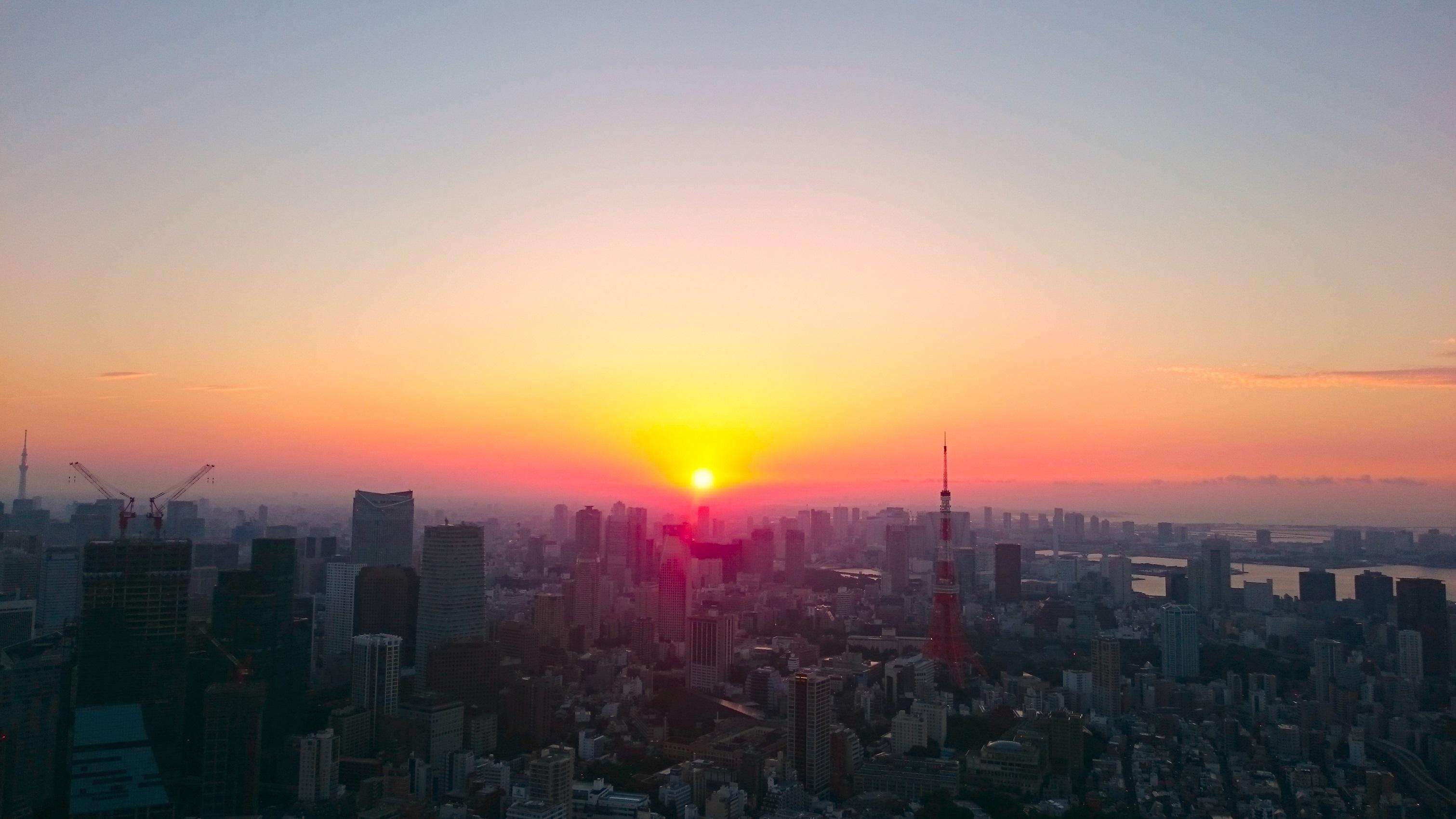 2017 初日の出 特別営業 六本木ヒルズ 東京シティビュー (amuzen article)