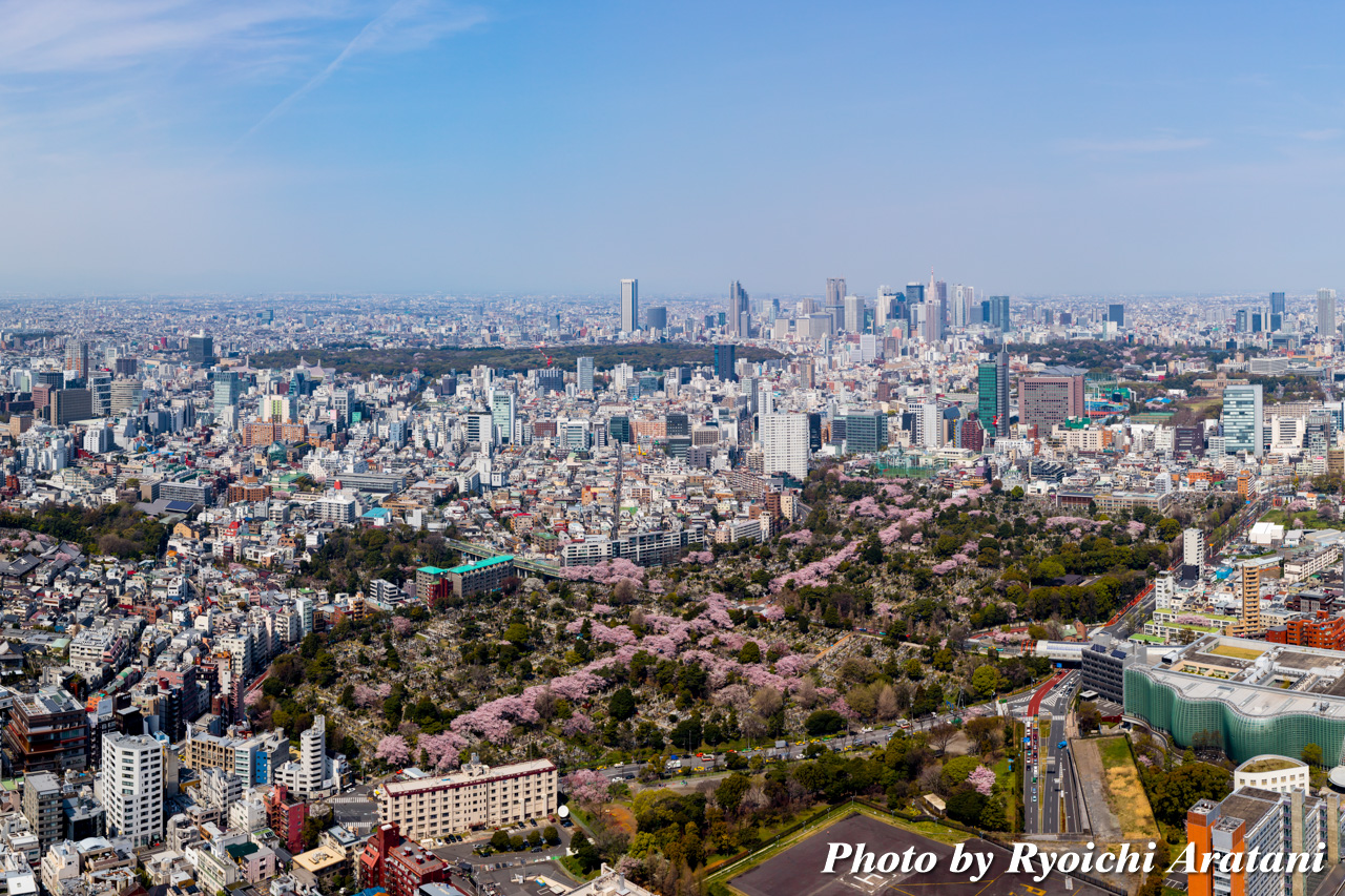 roppongi hills spring 2017 sky view