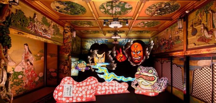 和のあかり×百段階段展 ホテル雅叙園東京