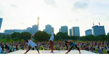 ヨガフェスタ横浜2017 (amuzen article)