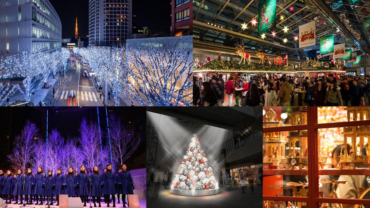 六本木ヒルズのクリスマス Artelligent Christmas 2017 (amuzen article)