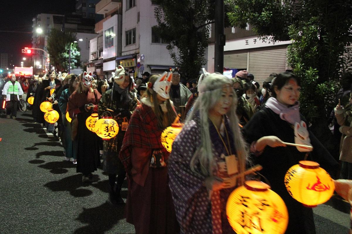 amuzen 「第25回 王子 狐の行列 2017-2018」