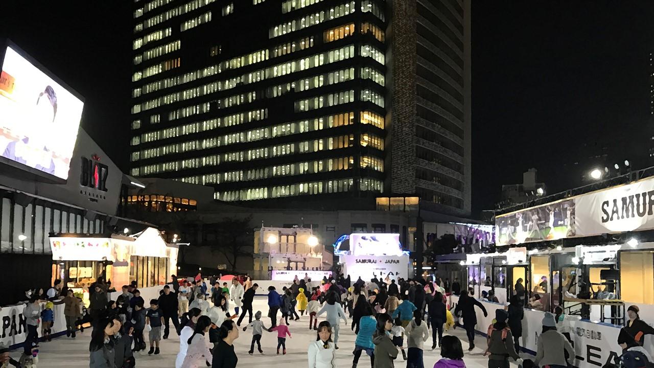 amuzen 「ホワイトサカス 2017-18 赤坂サカスの屋外スケートリンク」