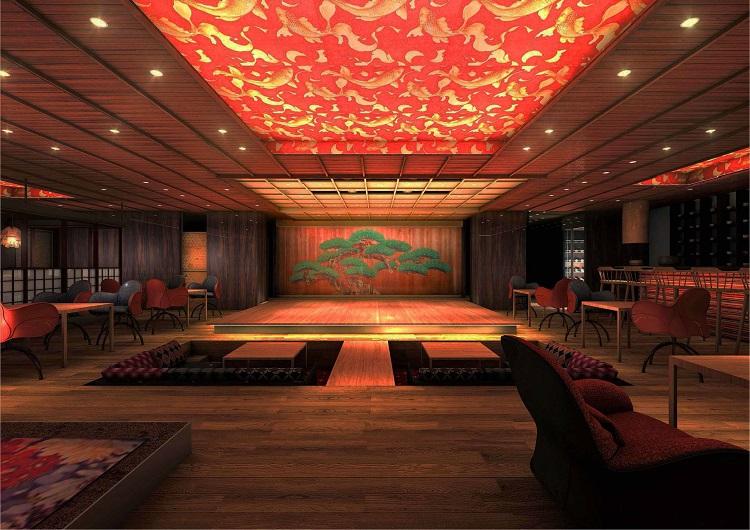 amuzen「水戯庵(すいぎあん)」日本文化に出会える劇場型レストラン