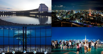 東京シティビューで、夏の大空を体感