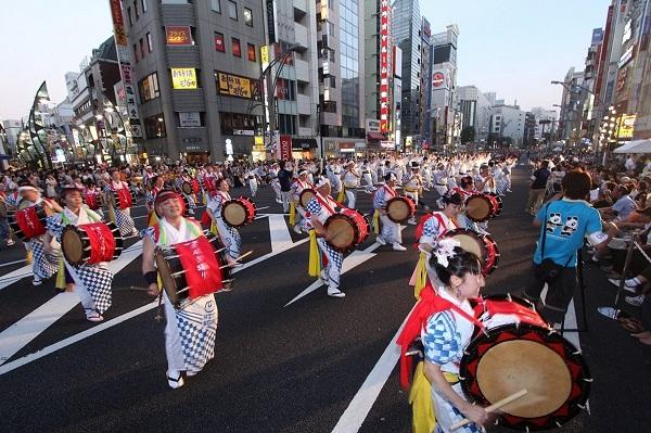 ueno natsu matsuri うえの夏まつり パレード