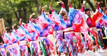 原宿表参道元氣祭 スーパーよさこい2018