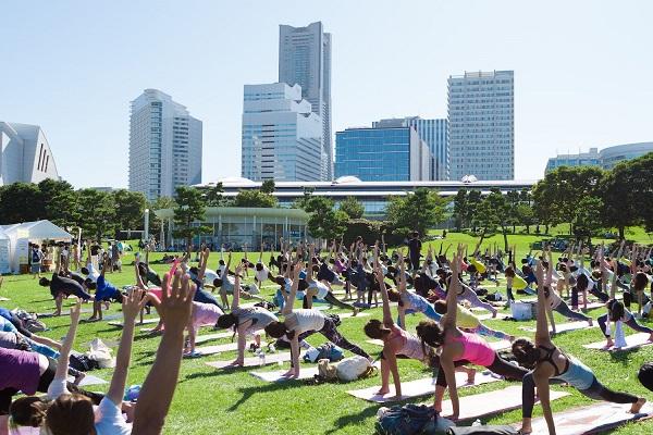 ヨガフェスタ横浜2018 yoga fest yokohama