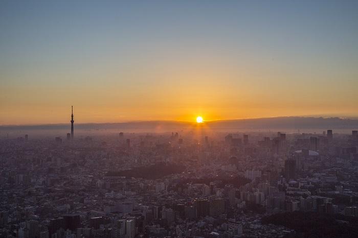 2019年「初日の出」 サンシャイン60展望台