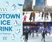 東京ミッドタウンのアイススケートリンク2019