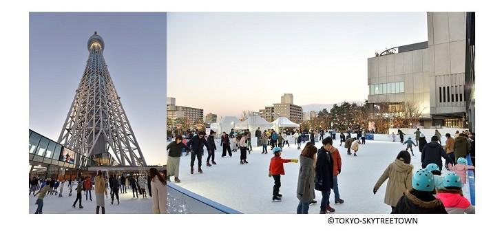 東京スカイツリータウン (R) スケート2019