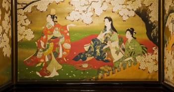 文化財に花咲くさくらアート 百段階段