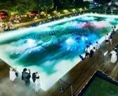 光と霧のデジタルアート庭園 東京ミッドタウン