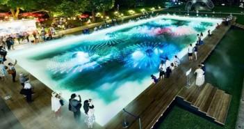 光と霧のデジタルアート庭園 2019 東京ミッドタウン