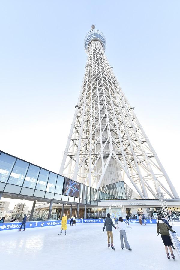 東京スカイツリータウン (R) スケート2020