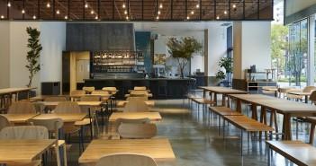 #ウチカレ はなカフェで、キャラメルソイペチーノ